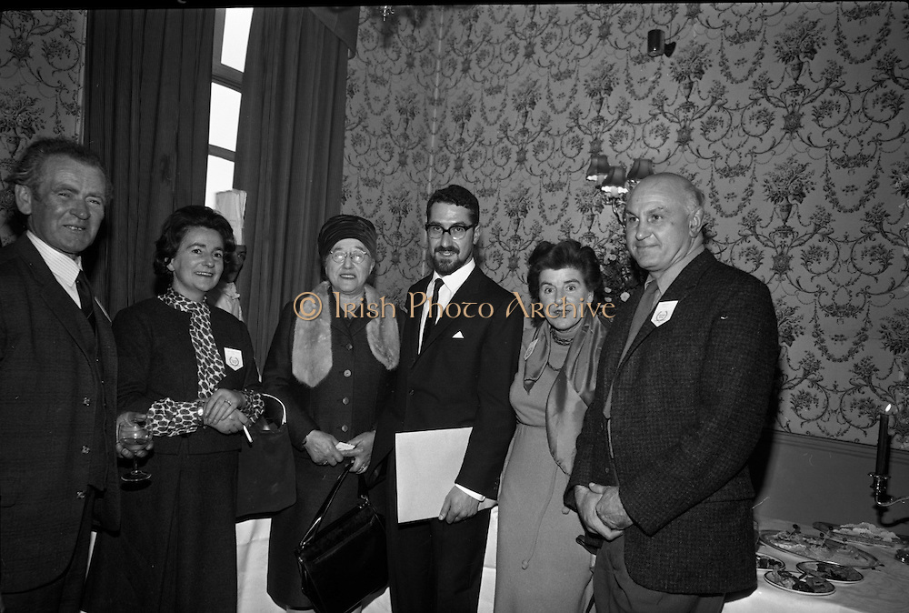 "Louis Marcus attends the world premier of the film ""Christy Ring""..19.10.1964"