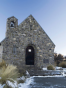 Church of the Good Sheperd, on the shore of Lake Tekapo, New Zealand.