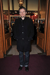 MARC WARREN at the opening night of Totem by Cirque du Soleil held at The Royal Albert Hall, London on 5th January 2011.
