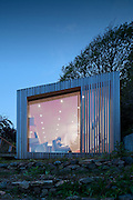 seaside, holiday house, bach, cornwall, uk, residential, england, uk, ecospace, garden studio, wood, wooden,