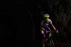 Monika Kiraly (HUN) at Giro Rosa 2018 - Stage 7, a 15 km individual time trial from Lanzada to Alpe Gera di Campo Moro, Italy on July 12, 2018. Photo by Sean Robinson/velofocus.com