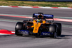 February 28, 2019 - Montmelo, BARCELONA, Spain - Lando Norris from Great Britain with 04 Mclaren F1 Team - Renault MCL34 in action during the Formula 1 2019 Pre-Season Tests at Circuit de Barcelona - Catalunya in Montmelo, Spain on February 28. (Credit Image: © AFP7 via ZUMA Wire)