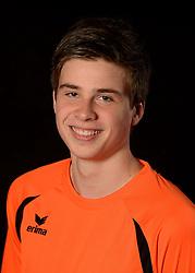 06-06-2013 VOLLEYBAL: NEDERLANDS JONG MANNEN VOLLEYBALTEAM: AMSTERDAM<br /> Selectie Oranje jong mannen seizoen 2013-2014 / Sam Gortzak<br /> &copy;2013-FotoHoogendoorn.nl