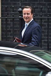 © licensed to London News Pictures. London, UK 24/10/2012. David Cameron leaving Downing Street on 24/10/12. Photo credit: Tolga Akmen/LNP