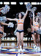 Jan. 8, 2012; Phoenix, AZ, USA; The Phoenix Suns dancers perform during a game against the Milwaukee Bucks at the US Airways Center. The Suns defeated the Bucks 109-93. Mandatory Credit: Jennifer Stewart-US PRESSWIRE..