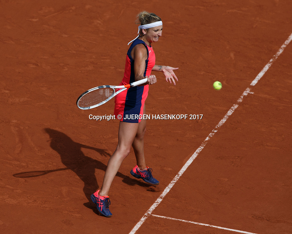 TIMEA BACSINSZKY (SUI)<br /> <br /> Tennis - French Open 2017 - Grand Slam / ATP / WTA / ITF -  Roland Garros - Paris -  - France  - 4 June 2017.