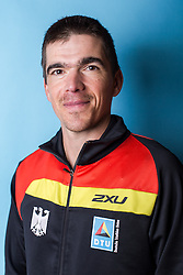 10.03.2016, Colonia di Sant Jordi, ESP, Deutsche Triathlon Nationalmannschaft, Trainingslager, im Bild Bundestrainer Dan Lorang (GER) // during photocall at the training camp of German Triathlon National Team in Colonia di Sant Jordi, Spain on 2016/03/10. EXPA Pictures © 2016, PhotoCredit: EXPA/ Eibner-Pressefoto/ Schüler<br /> <br /> *****ATTENTION - OUT of GER*****