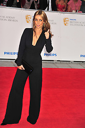 © licensed to London News Pictures. London, UK  22/05/11 Louise rednap attends the BAFTA Television Awards at The Grosvenor Hotel in London . Please see special instructions for usage rates. Photo credit should read AlanRoxborough/LNP