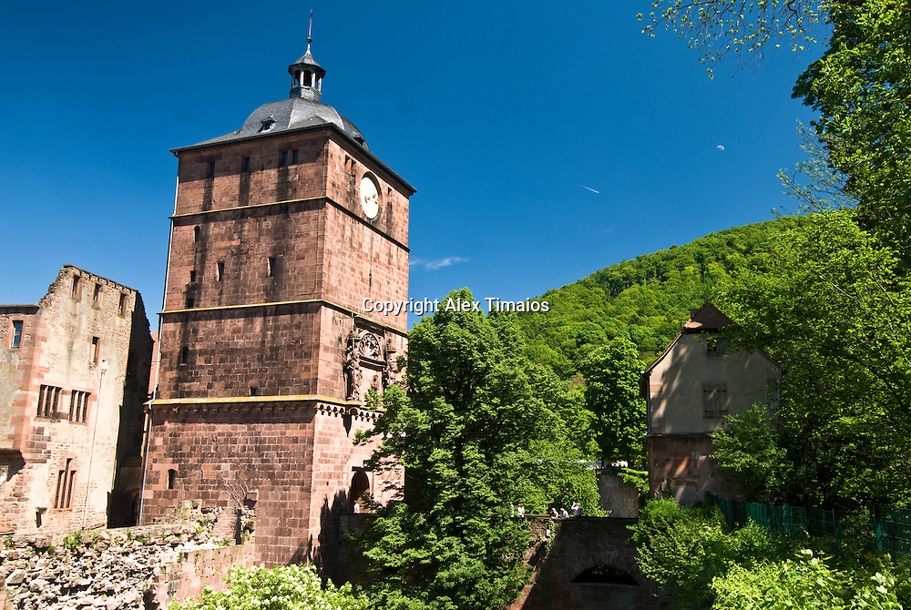 Heidelberg, the red castle