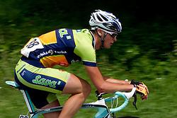 Burjek Nik (SLO) of Sava during 2nd Stage (189,6 km) at 18th Tour de Slovenie 2011, on June 17, 2011, in Ljubljana, Slovenia. (Photo by Vid Ponikvar / Sportida)