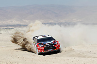MOTORSPORT - WRC 2011 - JORDAN RALLY - 14 TO 16/04/2011 - DEAD SEA (JOR) - PHOTO : BASTIEN BAUDIN / DPPI - <br /> 11 PETTER SOLBERG (NOR) / CHRIS PATTERSON (GBR) - CITROËN DS3 WRC - PETTER SOLBERG WRT - ACTION