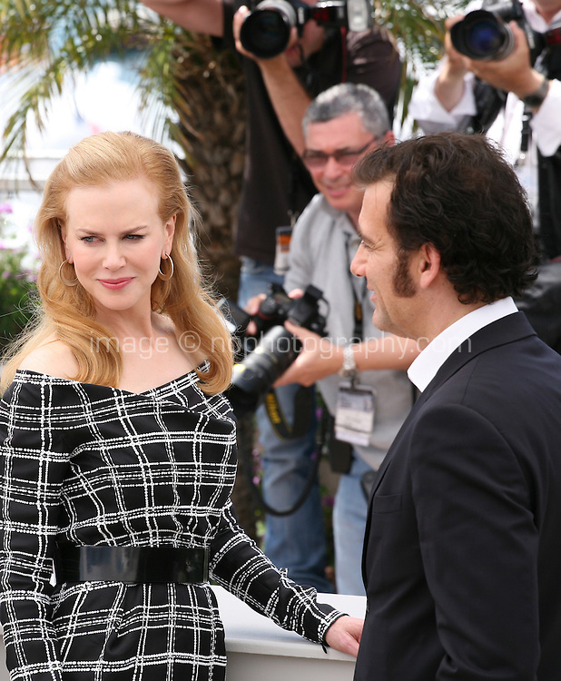 Actress Nicole Kidman and actor Clive Owen at the Heminway & Gellhorn photocall at the 65th Cannes Film Festival France. Friday 25th May 2012 in Cannes Film Festival, France.