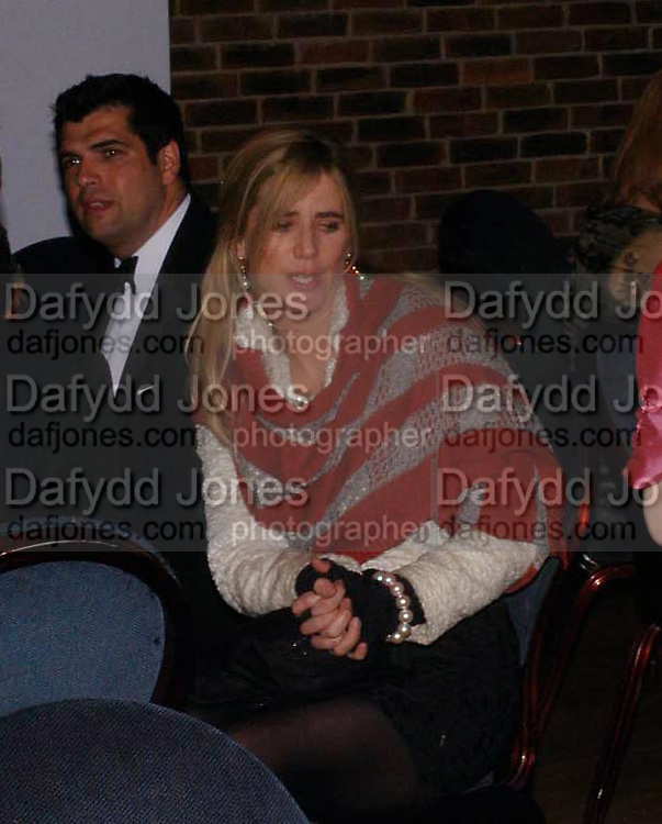 Imogen Stubbs. 2004 Whitbread Book Awards. The Brewery, Chswell st. London EC1. 25 January 2005. ONE TIME USE ONLY - DO NOT ARCHIVE  © Copyright Photograph by Dafydd Jones 66 Stockwell Park Rd. London SW9 0DA Tel 020 7733 0108 www.dafjones.com