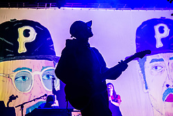 July 3, 2018 - Milan, Milan, Italy - John Gourley of the Portugal. The Man performing live at Fabrique Milan Italy  (Credit Image: © Roberto Finizio/NurPhoto via ZUMA Press)