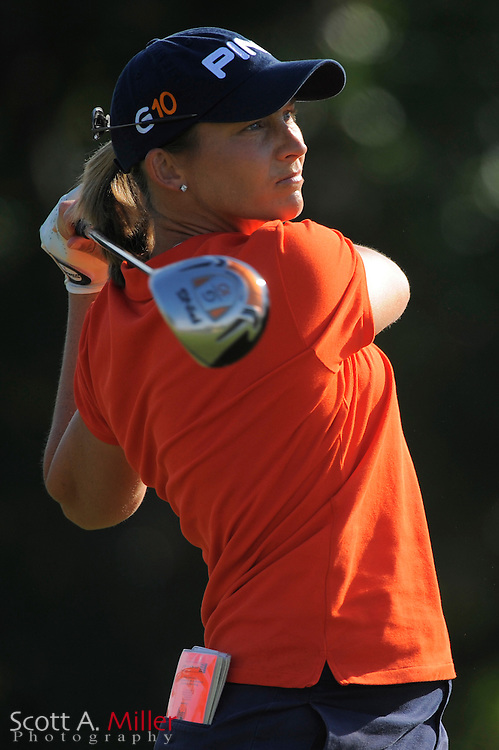 Angela Stanford in action during the second round of the Ginn Open at Reunion Resort on April 18, 2008 in Reunion, Florida...©2008 Scott A. Miller