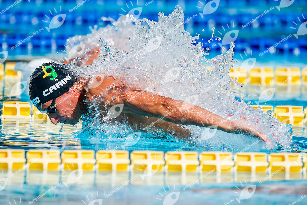 Giacomo Carini ITA <br /> Fiamme Gialle<br /> 100 Farfalla Uomini<br /> Stadio del Nuoto, Roma<br /> Day 07 10-08-2016<br /> Campionati Italiani di Categoria 2016<br /> Photo Andrea Masini/Deepbluemedia/Insidefoto