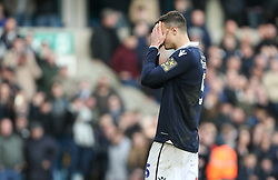 Jake Cooper of Millwall dejected after missing his penalty - Mandatory by-line: Arron Gent/JMP - 17/03/2019 - FOOTBALL - The Den - London, England - Millwall v Brighton and Hove Albion - Emirates FA Cup Quarter Final