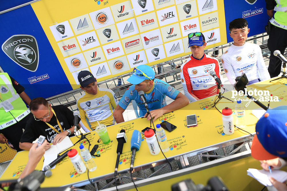 Le Tour De Langkawi 2015/Stage 4 - Kota Bharu-Kuala Berang/165.4km/Orica Greenedge/Astana/Caleb Ewans/Andrea Guardini/Giant Champion System/Zhang Wen Long/United Health Care/Kiel Reijnen