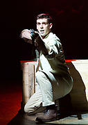 Yank!<br />  by <br /> at the Charing Cross Theatre, London<br /> 6th July 2017 <br /> press photocall <br />  <br /> A poignant original, musical and love story based on the true, hidden history of gay soldiers during World War Two. It transfers to London following a UK spring premi&egrave;re at Hope Mill Theatre in Manchester which received extensive critical acclaim.<br /> <br />  Scott Hunter as Stu <br /> <br /> <br /> Photograph by Elliott Franks <br /> Image licensed to Elliott Franks Photography Services