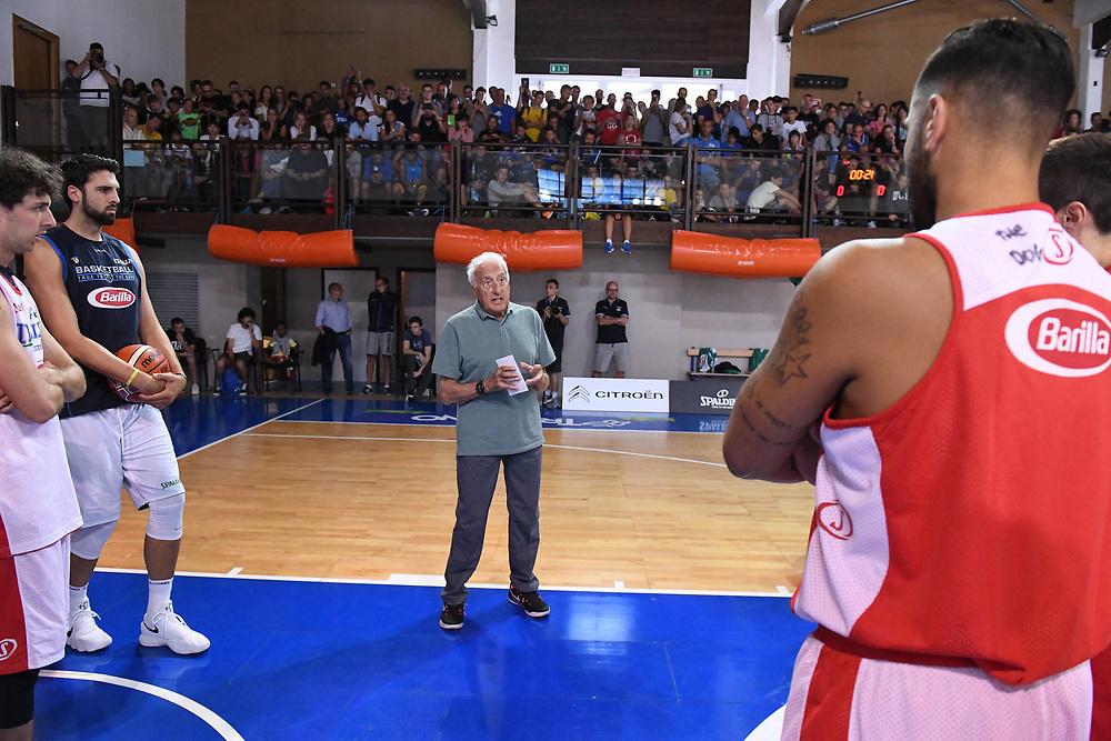Sandro Gamba<br /> Raduno Nazionale Maschile Senior<br /> Allenamento pomeriggio<br /> Folgaria, 26/07/2017<br /> Foto Ciamillo-Castoria/ GiulioCiamillo