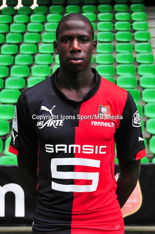 Abdoulaye DOUCOURE - 15.09.2014 - Photo officielle Rennes - Ligue 1 2014/2015<br /> Photo : Philippe Le Brech / Icon Sport