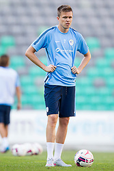 Josip Ilicic during practice session of Slovenian National Football Team before Euro 2016 Qualifications match against Switzerland, on September 1, 2015 in SRC Stozice, Ljubljana, Slovenia. Photo by Urban Urbanc / Sportida