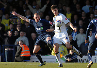 Photo: Ashley Pickering.<br />Southend United v Leeds United. Coca Cola Championship. 17/03/2007.<br />Freddy Eastwood of Southend (L) and Lubomir Michalik of Leeds