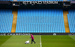 during the FA Cup fourth round match at Etihad Stadium, Manchester.