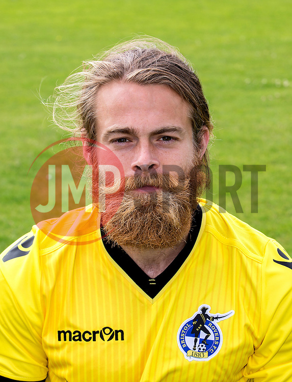 Stuart Sinclair of Bristol Rovers - Mandatory by-line: Robbie Stephenson/JMP - 04/08/2016 - FOOTBALL - The Lawns Training Ground - Bristol, England - Bristol Rovers Head Shots