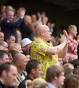 ready for summer - hawaiian shirt - Dundee United v Hearts, Clydesdale Bank Scottish Premier League at Tannadice Park..© David Young Photo.5 Foundry Place.Monifieth.Angus.DD5 4BB.Tel: 07765252616.email: davidyoungphoto@gmail.com.http://www.davidyoungphoto.co.uk
