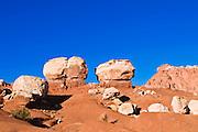 Twin Rocks, Capitol Reef National Park, Utah