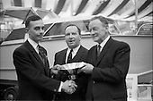 1966 - Córas Tráchtála award in Irish Boat show at the RDS, Ballsbridge