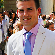 ITA/Siena/20100717 Wedding of soccerplayer Wesley Sneijder and tv host Yolanthe Cabau van Kasbergen, Levi van Kempen