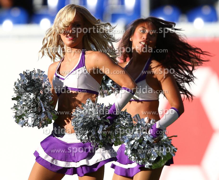 29.07.2010, Brita Arena, Wiesbaden, GER, Football EM 2010, Team Finland vs Team Germany, im Bild Cheerleader,  EXPA Pictures © 2010, PhotoCredit: EXPA/ T. Haumer / SPORTIDA PHOTO AGENCY