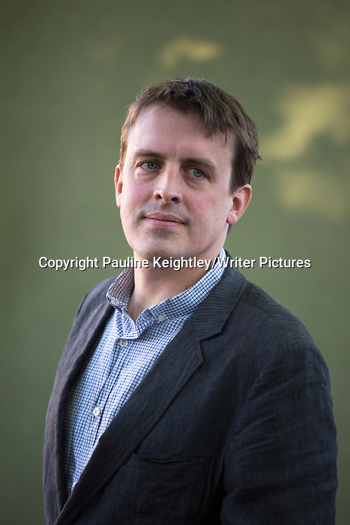 Oliver Bullough, English journalist, gave aa talk on his book The Last Man in Russia, at Edinburgh International Book Festival 2014. 24th August. Edinburgh Scotland. <br /> <br /> Picture by Pauline Keightley/Writer Pictures