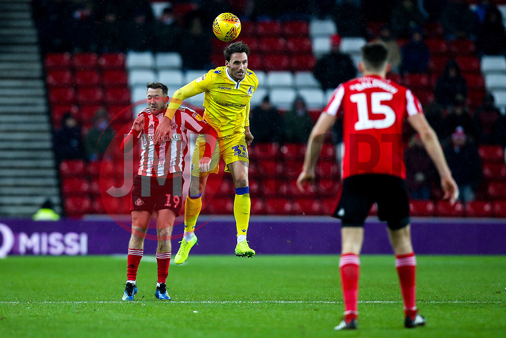 Alex Rodman of Bristol Rovers challenges Aidan McGeady of Sunderland - Mandatory by-line: Robbie Stephenson/JMP - 15/12/2018 - FOOTBALL - Stadium of Light - Sunderland, England - Sunderland v Bristol Rovers - Sky Bet League One