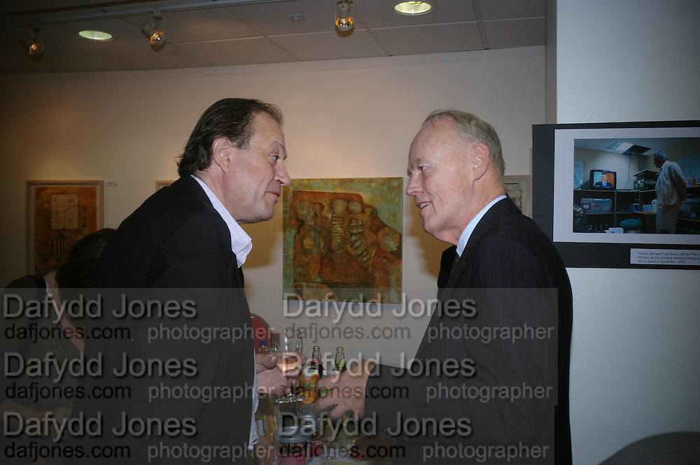 John Norton and Richard Shepherd, Launch of Martin Bell's ' The Truth That Sticks: New Labour's Breach Of Trust.' Foyles. London. 5 September 2007.  -DO NOT ARCHIVE-© Copyright Photograph by Dafydd Jones. 248 Clapham Rd. London SW9 0PZ. Tel 0207 820 0771. www.dafjones.com.