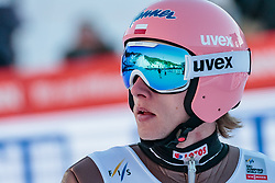 17.03.2018, Vikersundbakken, Vikersund, NOR, FIS Weltcup Ski Sprung, Raw Air, Vikersund, Team, im Bild Dawid Kubacki (POL) // Dawid Kubacki of Poland during Team Competition of the 4th Stage of the Raw Air Series of FIS Ski Jumping World Cup at the Vikersundbakken in Vikersund, Norway on 2018/03/17. EXPA Pictures © 2018, PhotoCredit: EXPA/ JFK