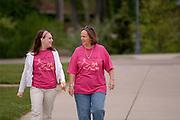 18211Mom's Weekend 2007 : Walk for a Cure....Amanda Lavitt & Mom, Bev Lavitt