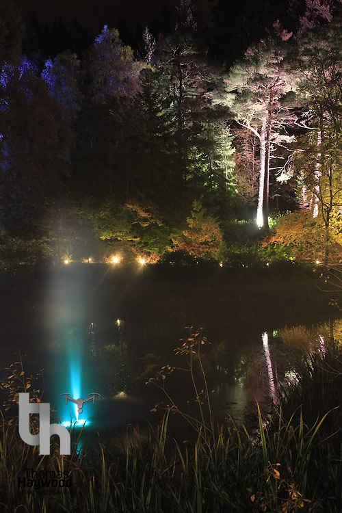 Enchanted Forest, Pitlochry 14-10-09