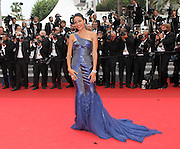 22.MAY.2011 CANNES<br /> <br /> ROSARIO DAWSON ON THE RED CARPET FOR THE LES BIENS AIMES PREMIERE AT THE CLOSING CEREMONY AT THE 64TH CANNES INTERNATIONAL FILM FESTIVAL IN CANNES, FRANCE.<br /> <br /> BYLINE: EDBIMAGEARCHIVE.COM<br /> <br /> *THIS IMAGE IS STRICTLY FOR UK NEWSPAPERS AND MAGAZINES ONLY*<br /> *FOR WORLD WIDE SALES AND WEB USE PLEASE CONTACT EDBIMAGEARCHIVE - 0208 954 5968*