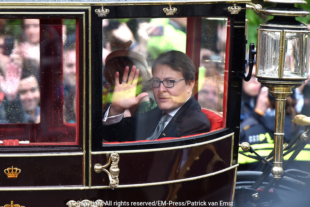 Prinsjesdag - Koninklijke familie in de Gouden Koets<br /> <br /> Budget Day - Royal family in the Golden Coach<br /> <br /> Op de foto / On the photo:  Prins Constantijn / Prince Constantijn
