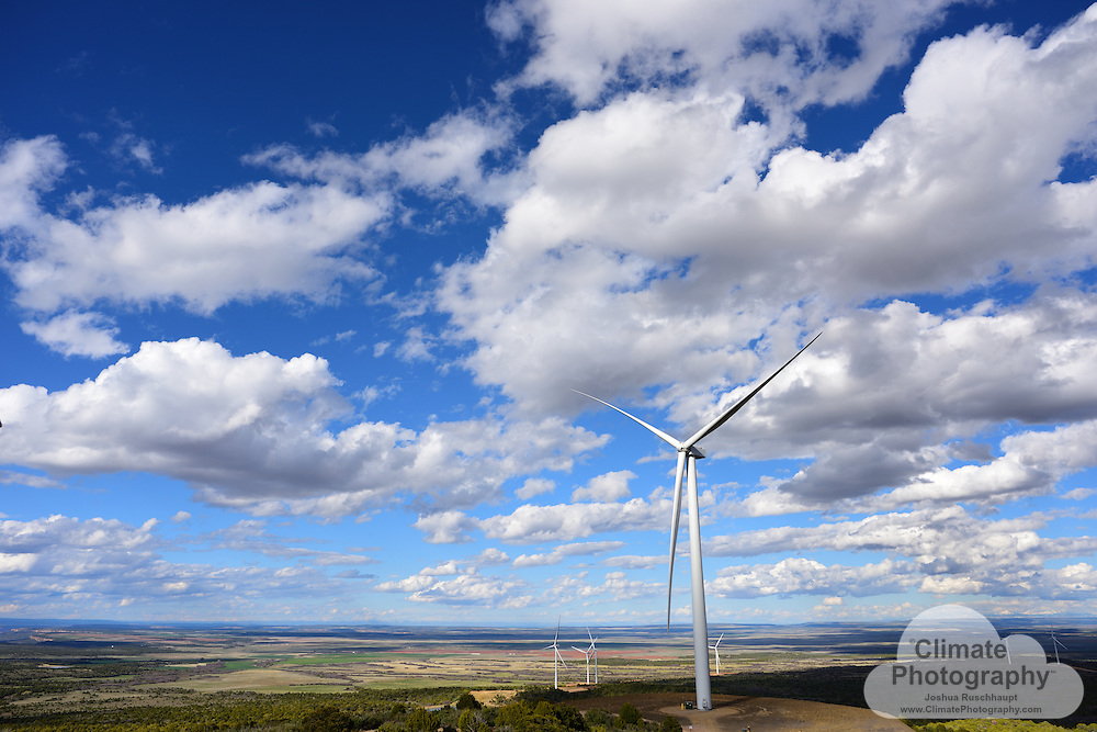Latigo Wind Park near Monticello, Utah.<br />
