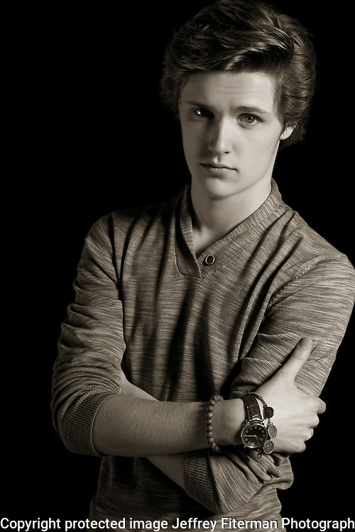 Eugene Simon photographed in Los Angeles, CA for Hydrogen Magazine
