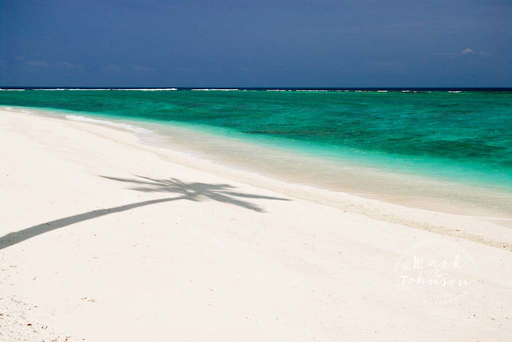 Beach on Pulau Pittojat, Mentawai Islands, Indonesia