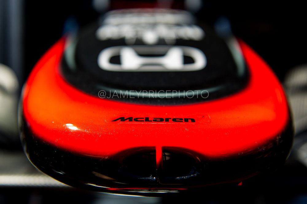 May 20-24, 2015: Monaco - Mclaren Honda nose detail