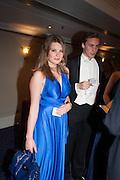 TARKA RUSSELL; ALEX COLERIDGE, The Royal Caledonian Ball 2013. The Great Room, Grosvenor House. Park lane. London. 3 May 2013.