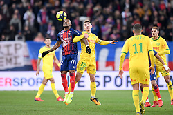 February 13, 2019 - Caen, France - 28 VALENTIN RONGIER (NAN) - 12 CLAUDIO BEAUVUE  (Credit Image: © Panoramic via ZUMA Press)