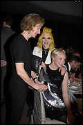 JULIA PEYTON-JONES; PAM HOGG; GWENDOLINE CHRISTIE, Liberatum Cultural Honour for Francis Ford Coppola<br /> with Bulgari Hotel & Residences, London. 17 November 2014