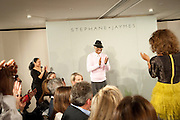 STEPHANE ST. JAYMES, Stephane St. Jaymes Spring Summer 2011 fashion show.<br /> The Westbury Mayfair, Bond Street, London,DO NOT ARCHIVE-© Copyright Photograph by Dafydd Jones. 248 Clapham Rd. London SW9 0PZ. Tel 0207 820 0771. www.dafjones.com.